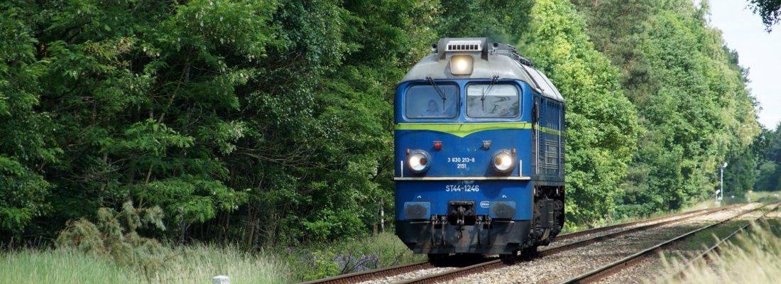 ST44-1246 westlich von Kąkolewo