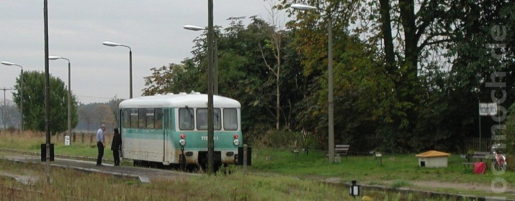 Triebwagen 772 173-1 in Herzberg (Mark)