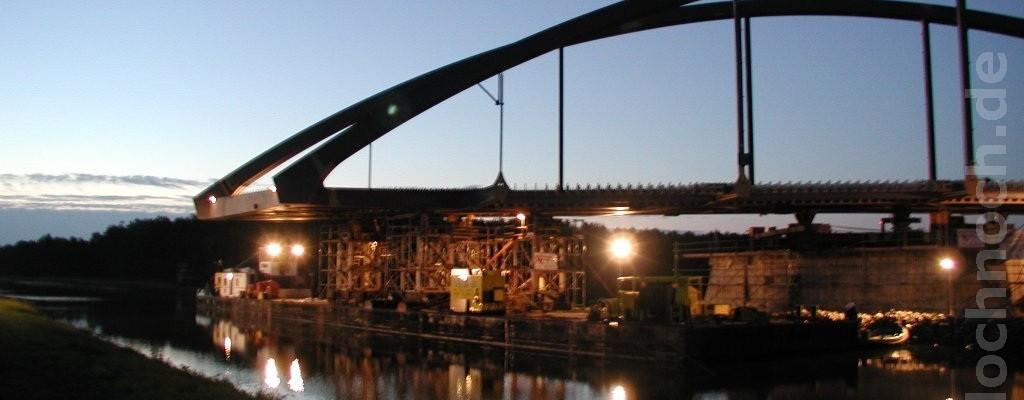 Einschwimmen Mäckerseebrücke
