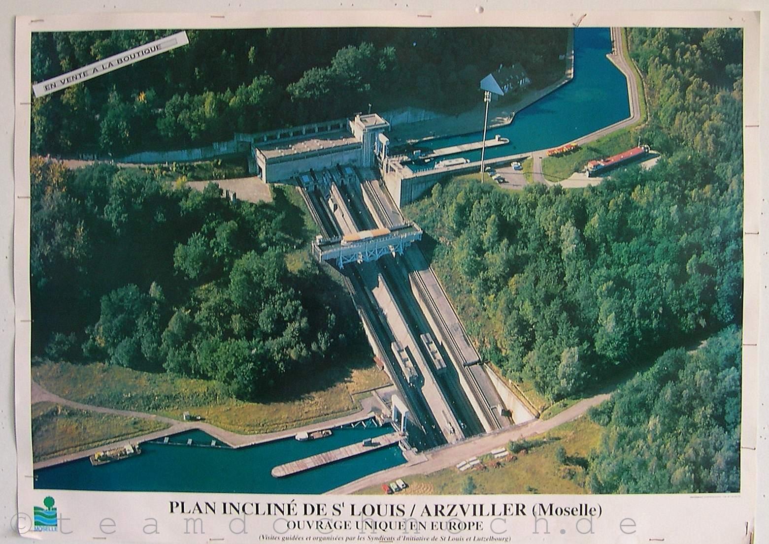 Schiffshebewerk saint louis arzviller b3b - Plan incline de saint louis arzviller ...