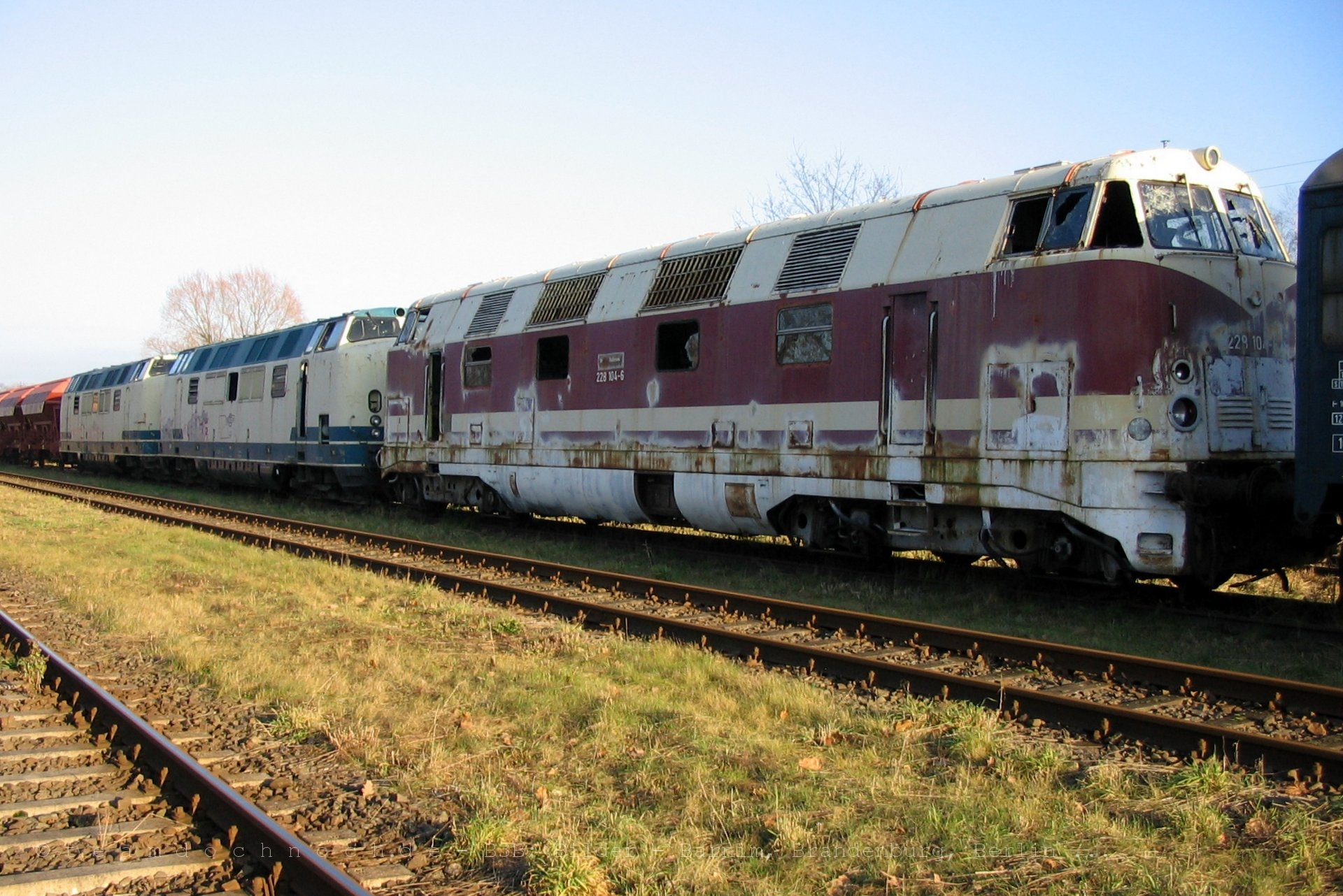 228 104-6 in Meyenburg