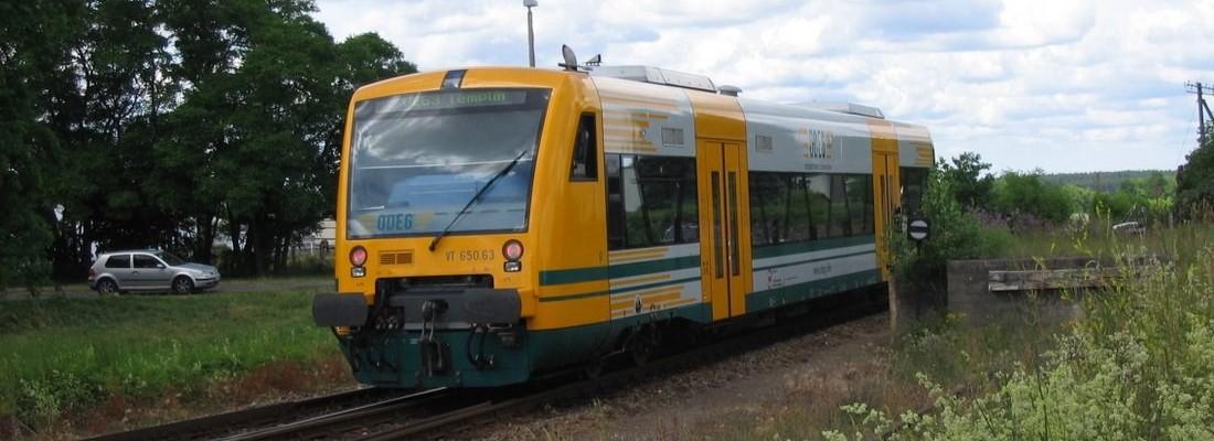 VT 650.63 der ODEG in Milmersdorf