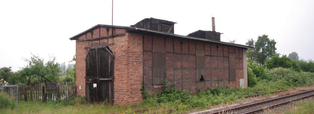 Rund um den Bahnhof Goldberg (Mecklenburg)