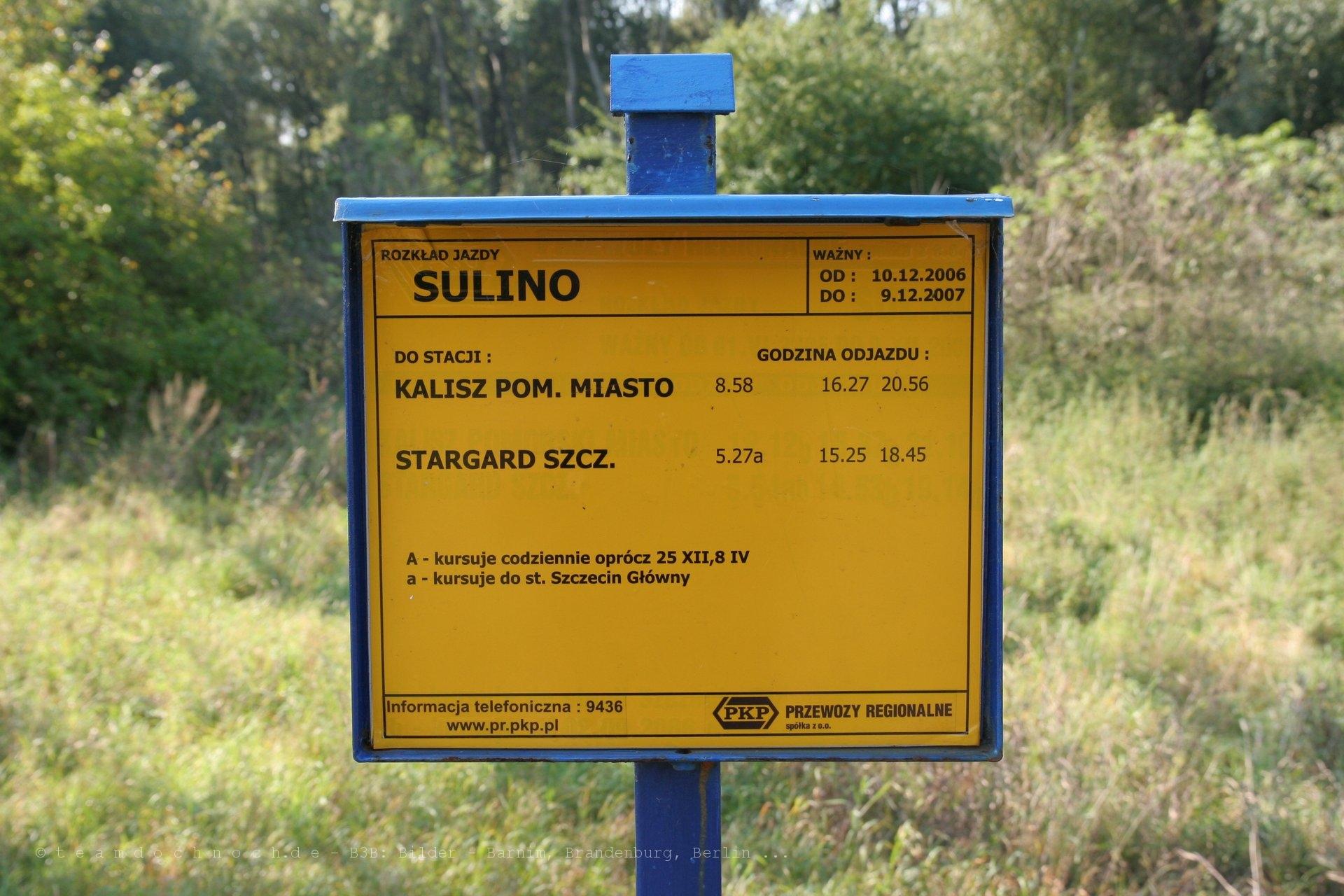Bahnhof Sulino