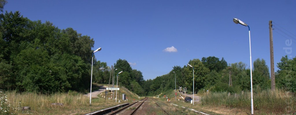 Bahnstation Wiewiecko (ehem. Henkenhagen)
