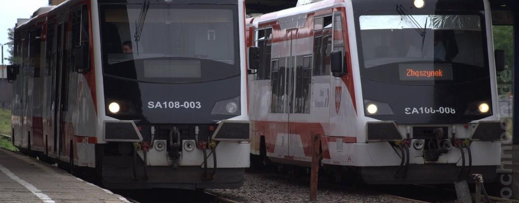 Triebwagen SA108-003 und SA108-008