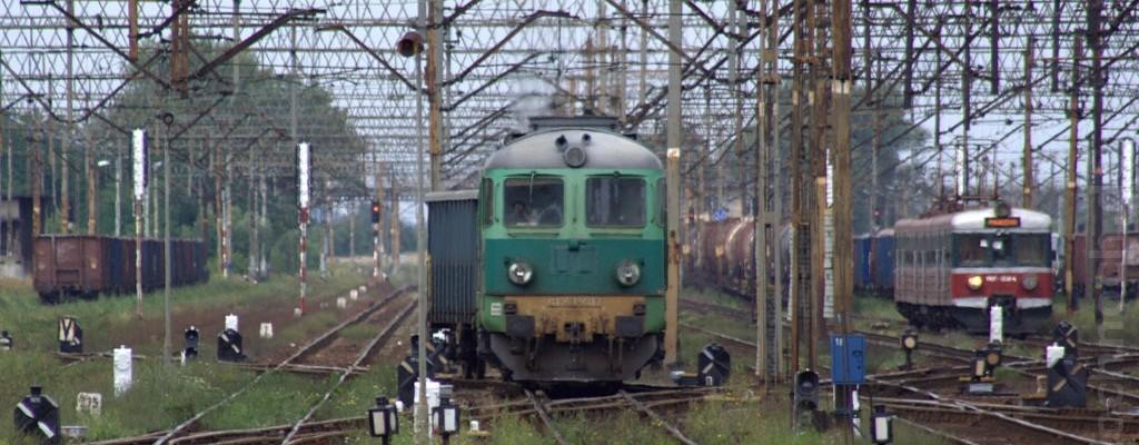 ST43-407 beim Rangieren in Leszno
