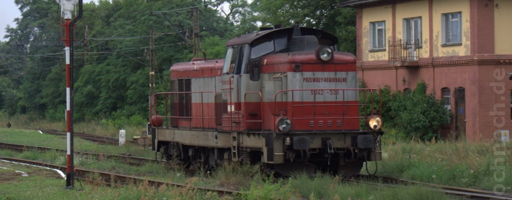 Zug aus Leszno
