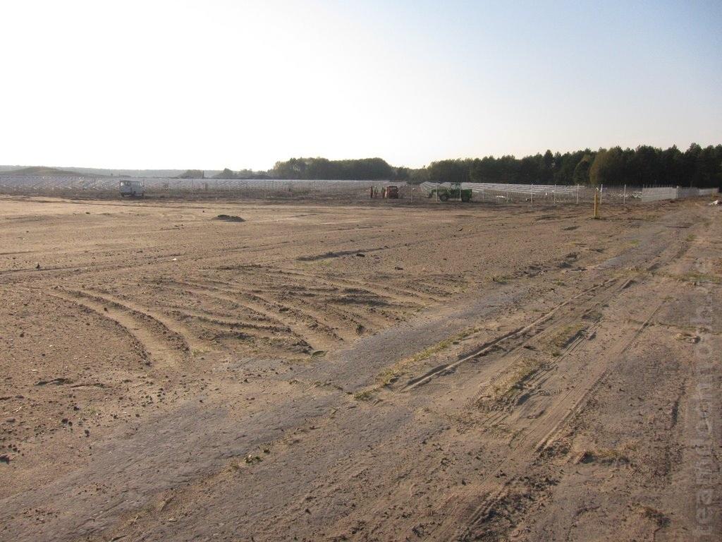 Baufortschritt Solarflughafen Finow