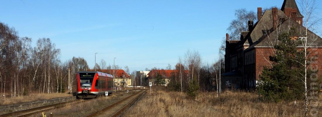 GTW 2/6 der DB AG in Neuruppin West