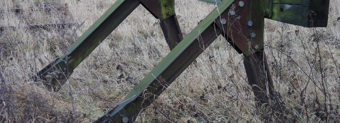 Prellbock in Wriezen