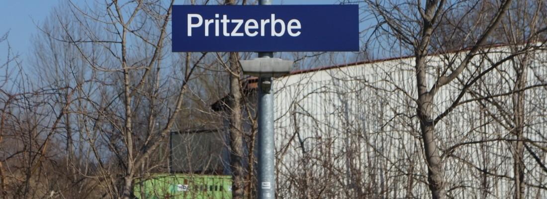 Eindrücke vom Bahnhof Pritzerbe