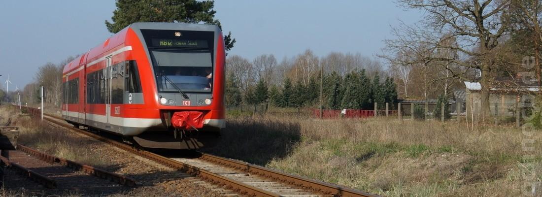 GTW 2/6 der DB AG in Zehdenick-Neuhof