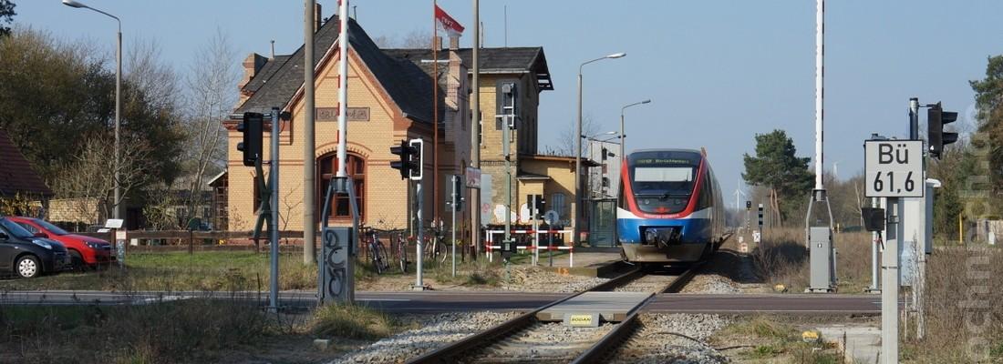 Talent der Prignitzer Eisenbahn in Zehdenick-Neuhof