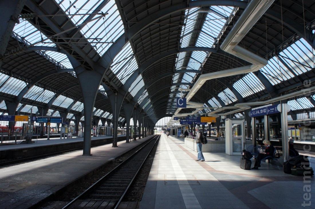 Bahnhof Karlsruhe Ankunft
