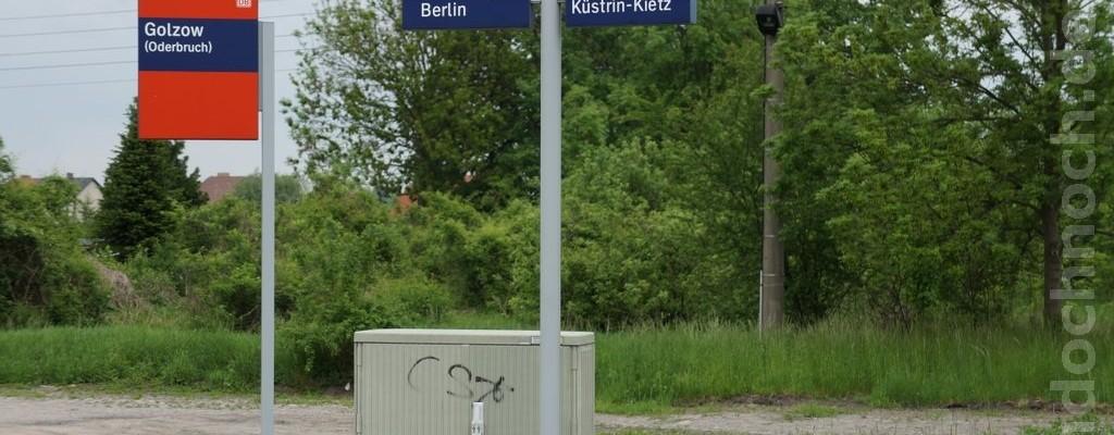 Bahnhof Golzow (Oderbruch)