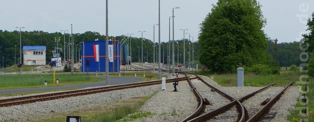 Bahnanschluß Tanklager