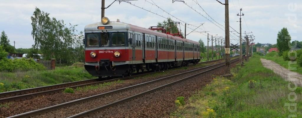 EN57-1779 auf dem Weg nach Krzyż
