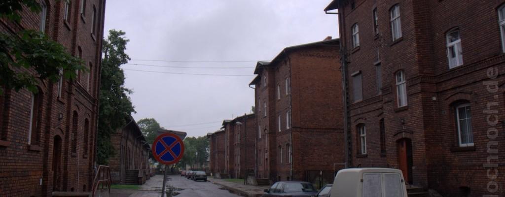 Eisenbahnerhäuser in Krzyż Wielkopolski