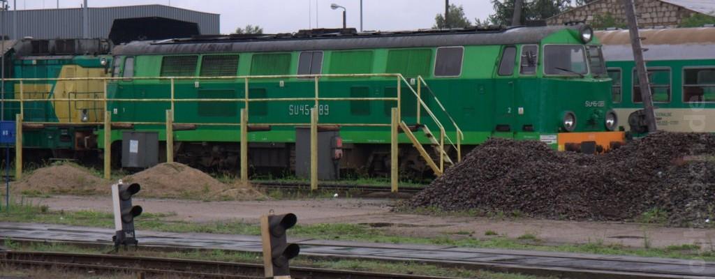 Eindrücke vom Bahnhof und Blick ins BW