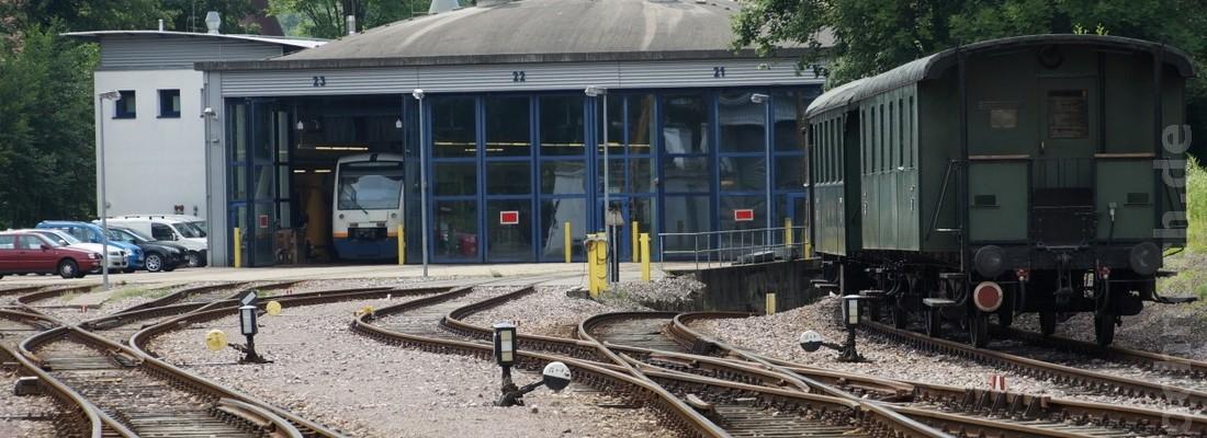 Bahnhof Ottenhöfen im Schwarzwald