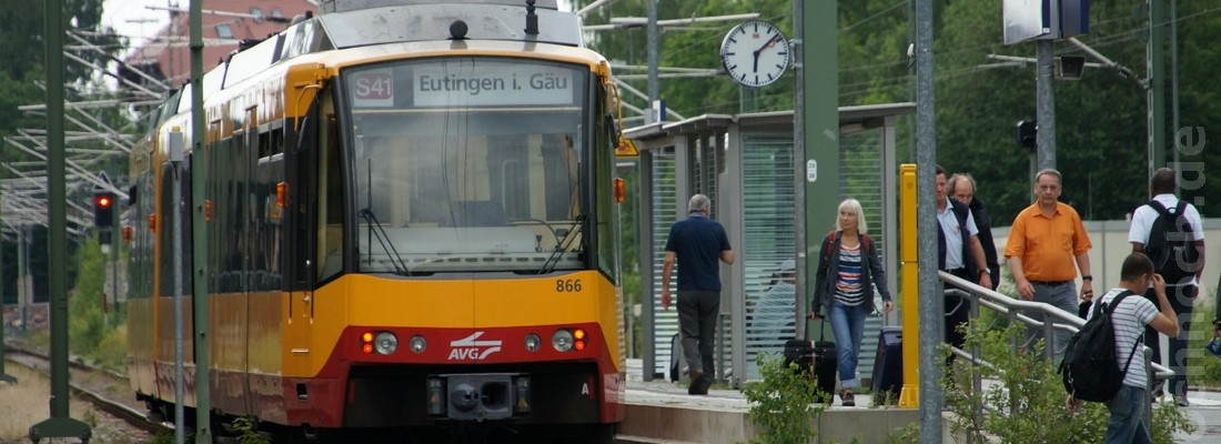S41 am Bhf. Freudenstadt