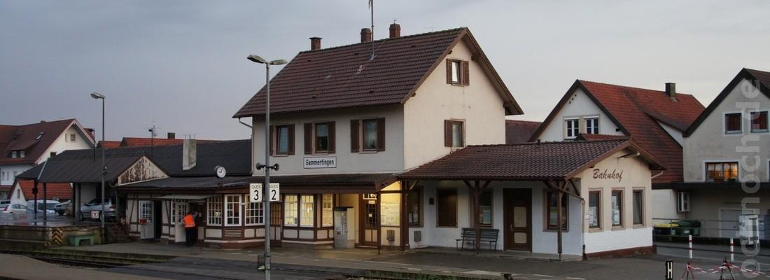 Bahnhof Gammertingen