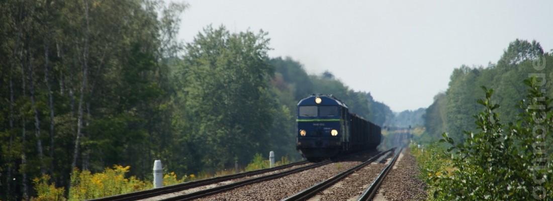 SU46-023 auf dem Weg nach Węgliniec