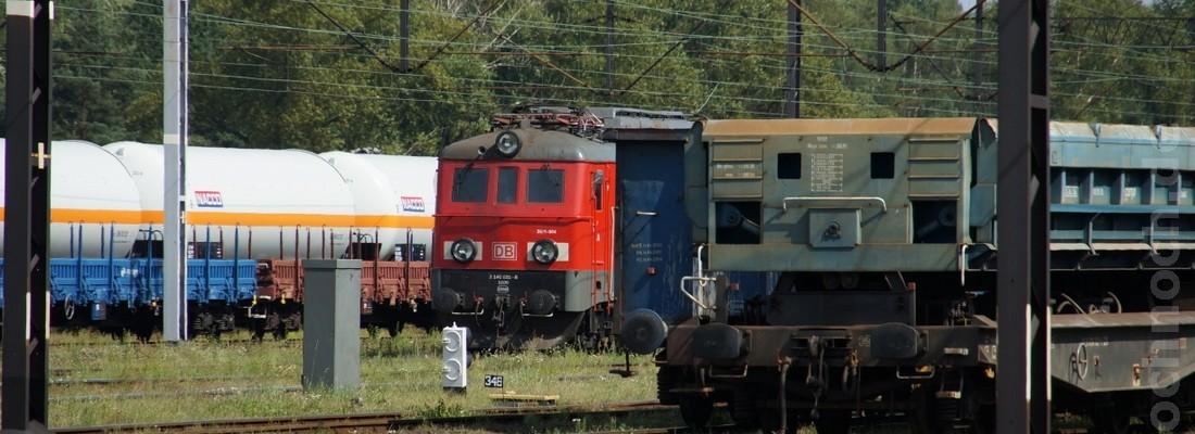 DB Schenker Rail Polska S.A. 3E/1-004 in Węgliniec