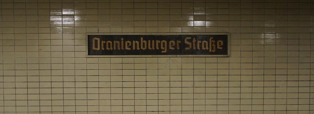 S-Bahnhof Oranienburger Straße