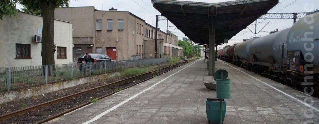 Im Bahnhof von Krotoszyn