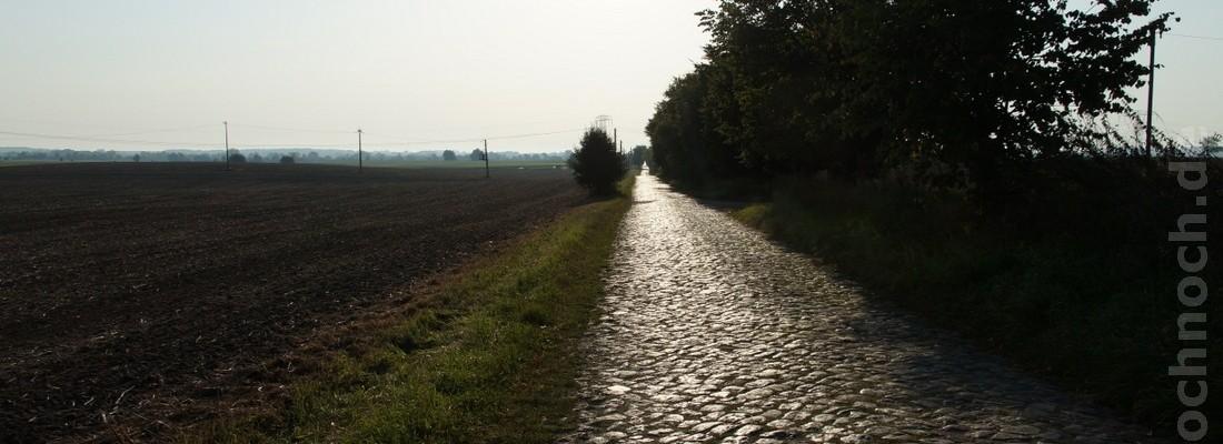 Eine Straße aus vergangenen Tagen