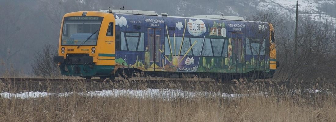 ODEG RS1 zwischen Falkenberg und Niederfinow