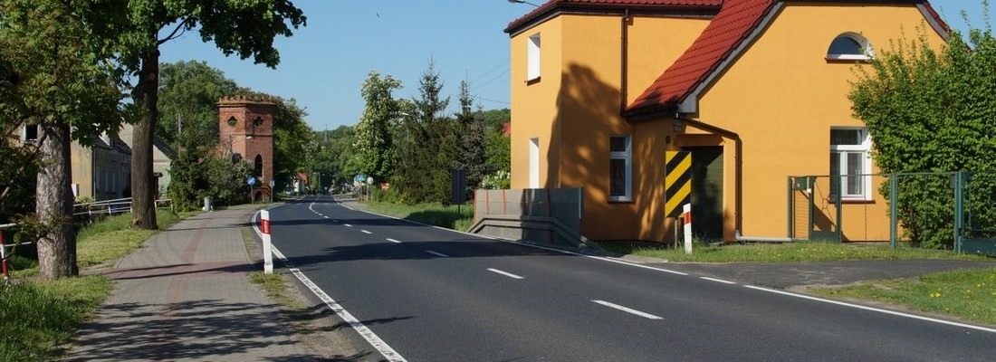 Chausseehaus in Dąbroszyn