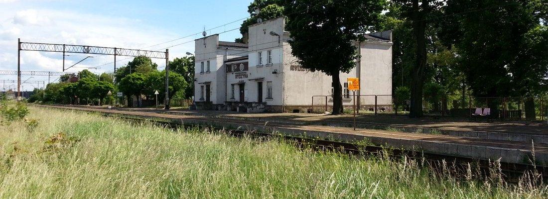 Bahnhof und Stellwerk Rydzyna