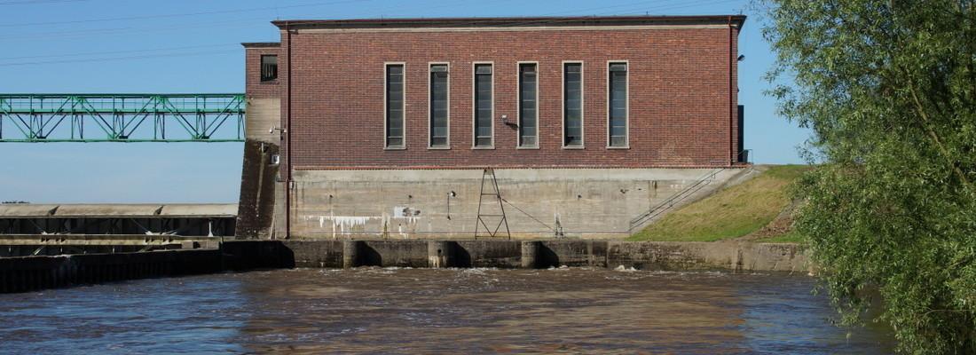 Wasserkraftwerk Raduszec Stary
