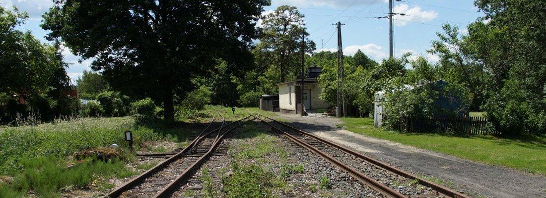 Bahnhof der Schmalspurbahn in Stare Bojanowo
