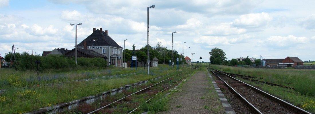 Bahnhof Kąkolewo bei Leszno