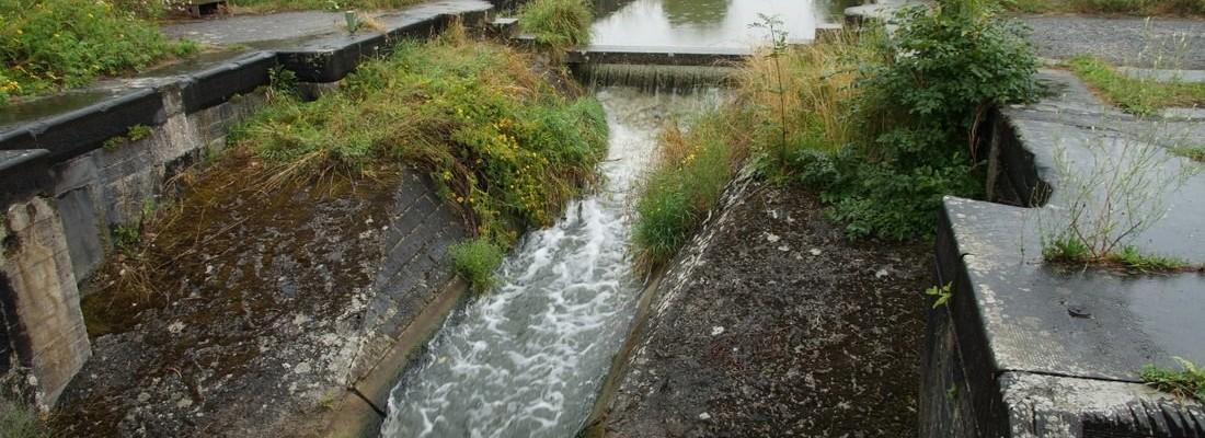 Schleuse Nr. 26 des Kanal Charleroi-Brüssel