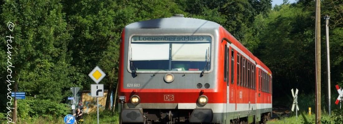 628 683 als Regionalbahn RB54 in Lindow