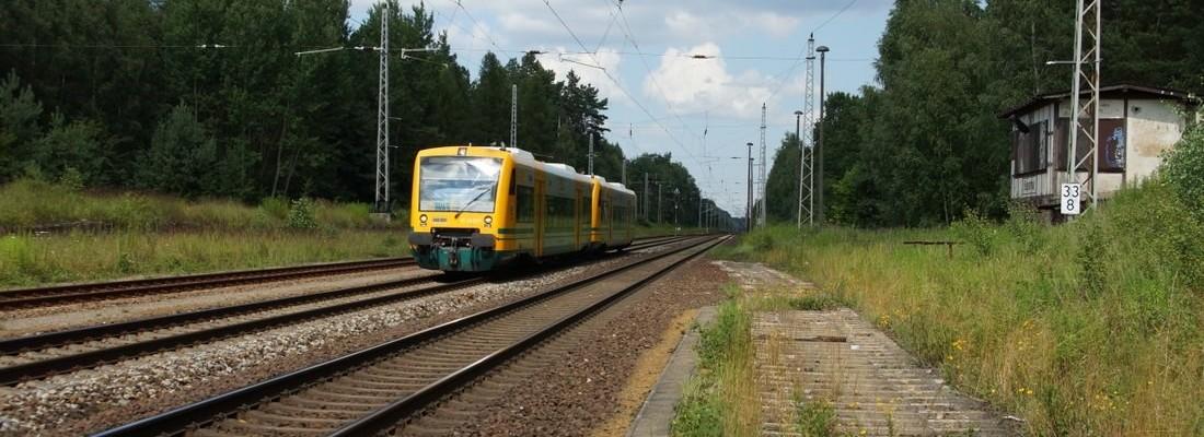 ODEG RS1 als RB60 in Biesenthal