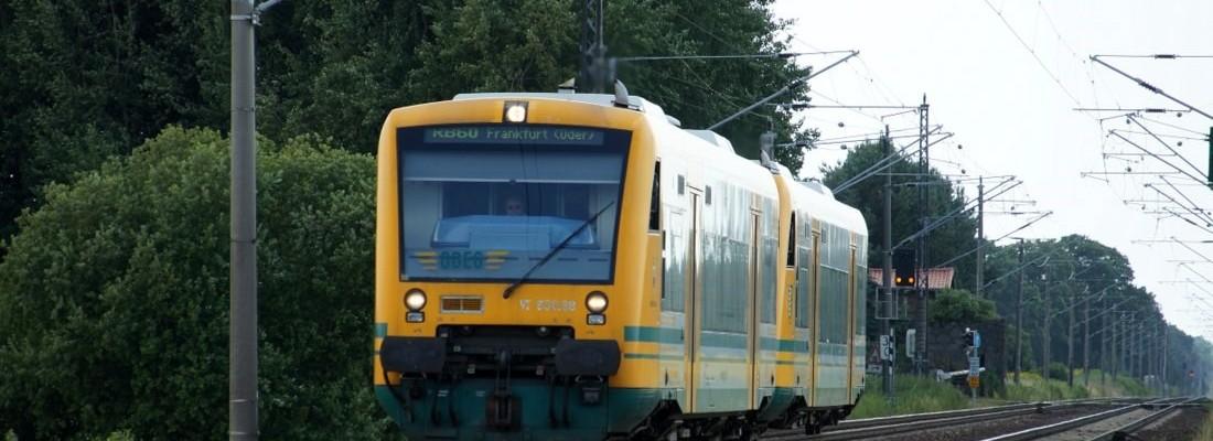 RB60 nach Frankfurt (Oder) bei Danewitz