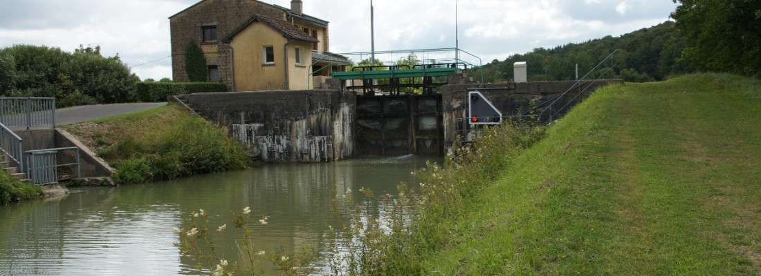 Schleuse Nr.5 des Canal Ardennes