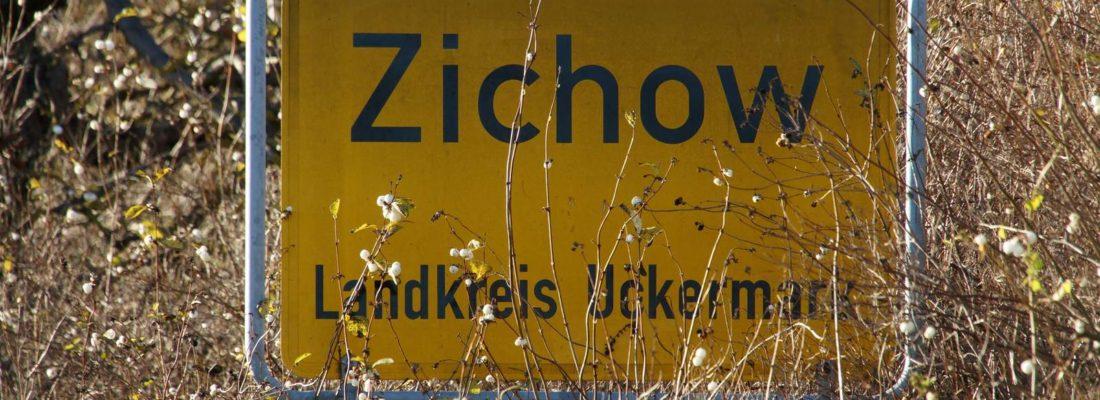 Ortseingang Zichow