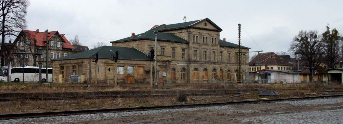 Bahnhof Blankenburg / Harz
