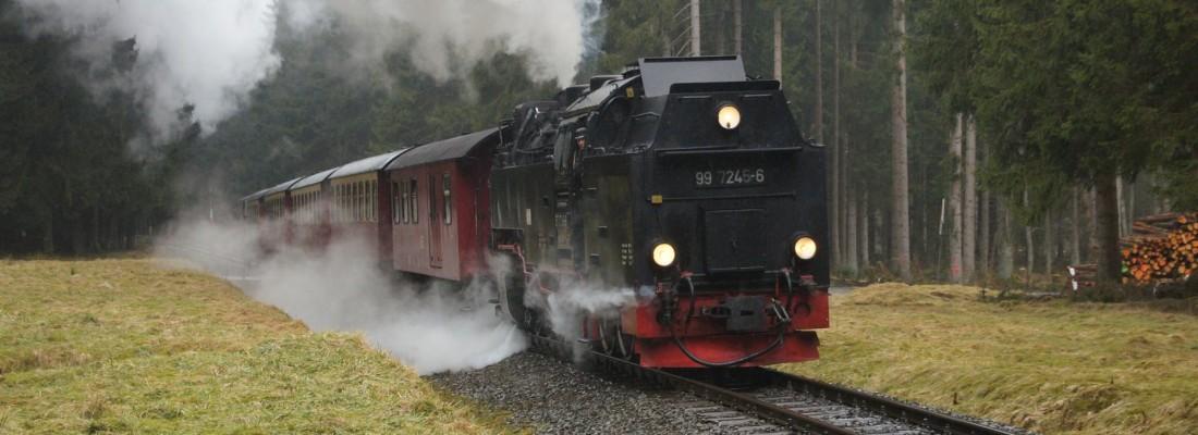 99 7245-6 auf dem Weg nach Eisfelder Talmühle