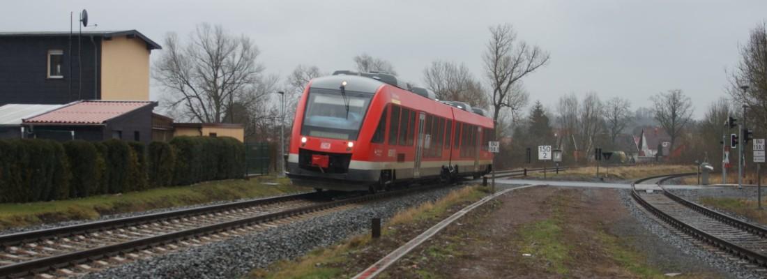 648 256 in Niedersachswerfen als RB80 nach Bodenfels