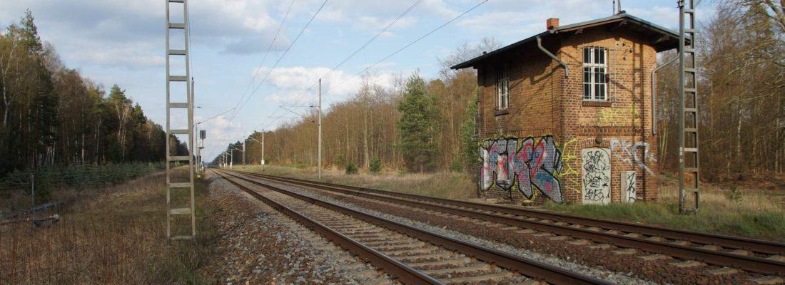 Alter Bahnübergang Wildtränke