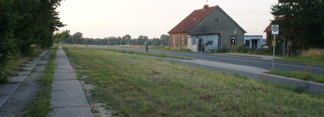 Chausseehaus an der B109 südlich von Belling