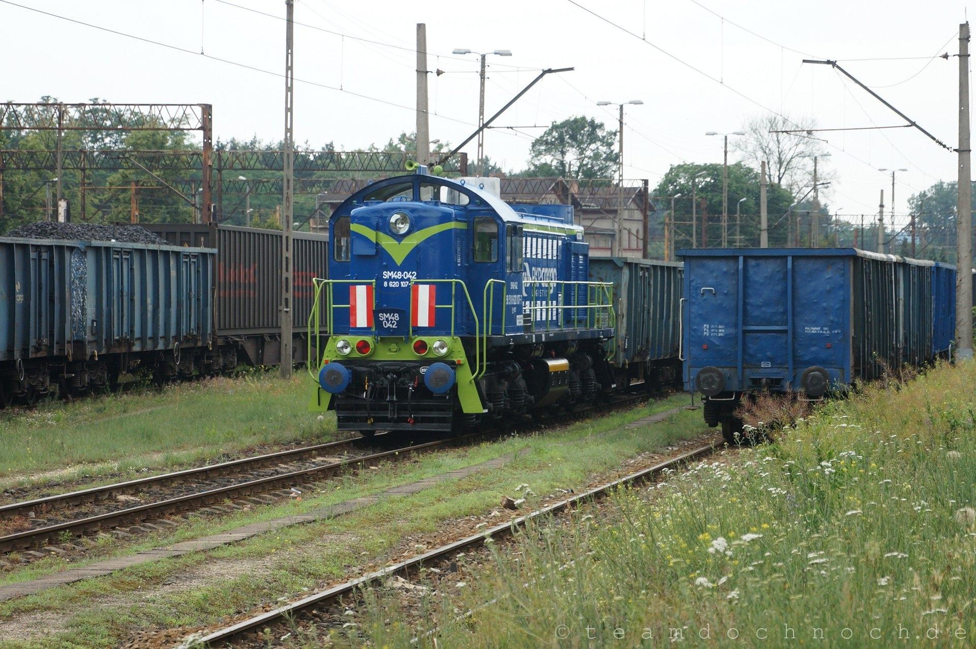 SM48-042 (8 620 107-7) in Czerwieńsk
